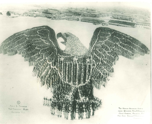 Camp Gordon eagle