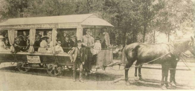 Ponce de Leon Horse Cart