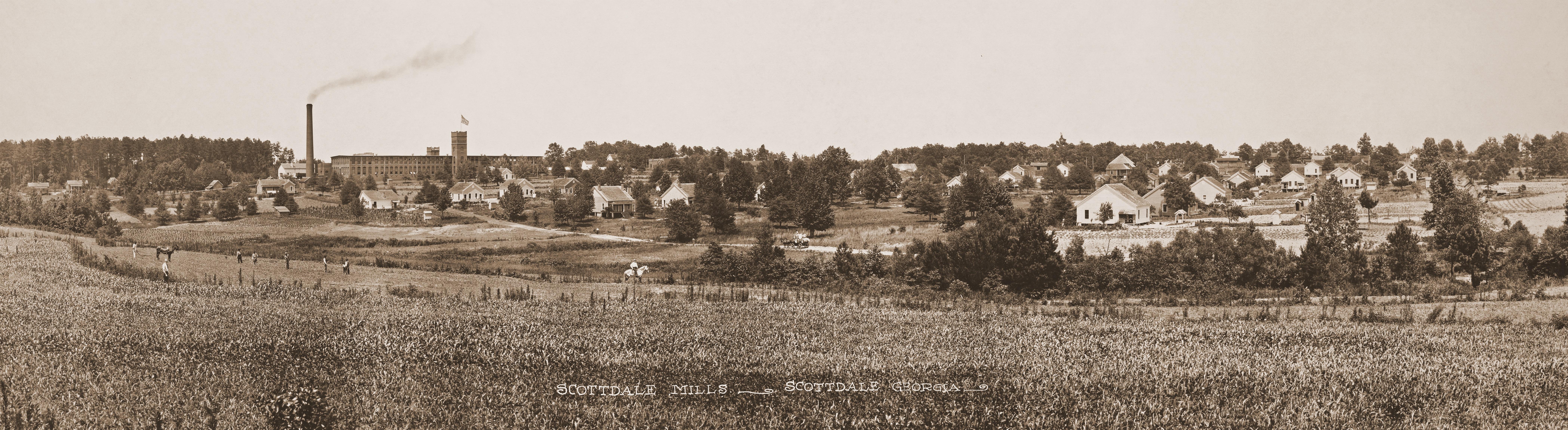 scottdale mills panaromic