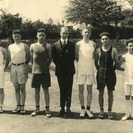 Decatur High School track team 1923