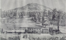 Stone Mountain Lithograph 1848
