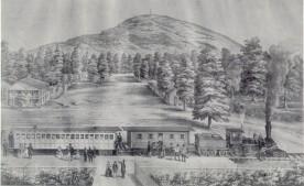 Stone Mountain Lithograph 1848