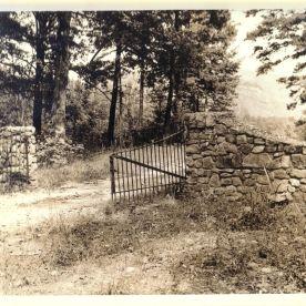 Stone Mountain Trail Gate