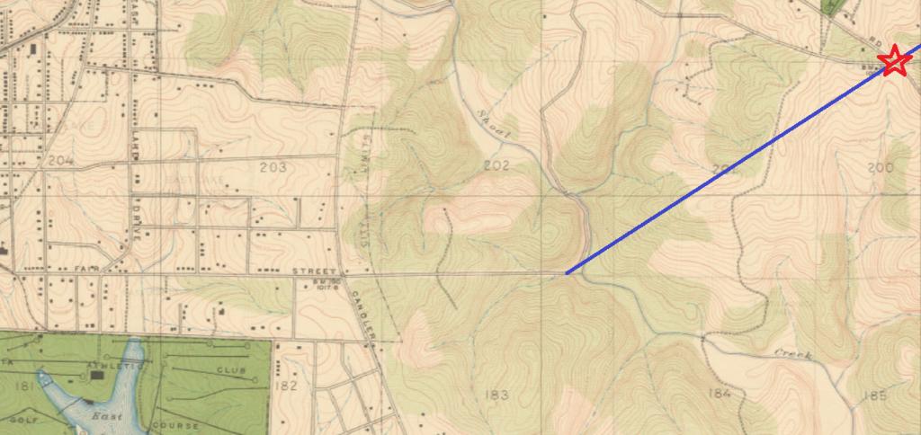 1930's map of DeKalb County