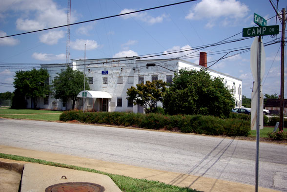 Photo of old DeKalb County Jail